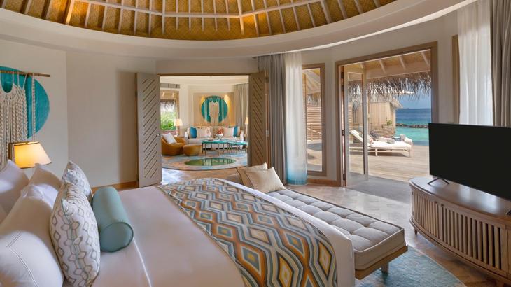hotel baru di maldives, the nautilus maldives