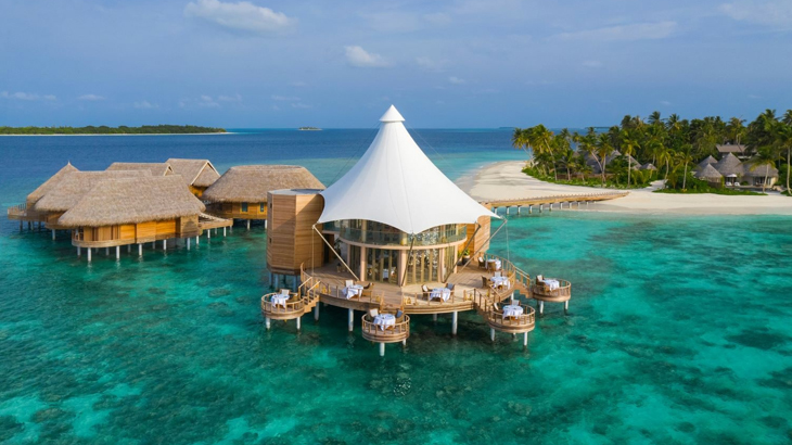 hotel baru di maldives, the nautilus maldives