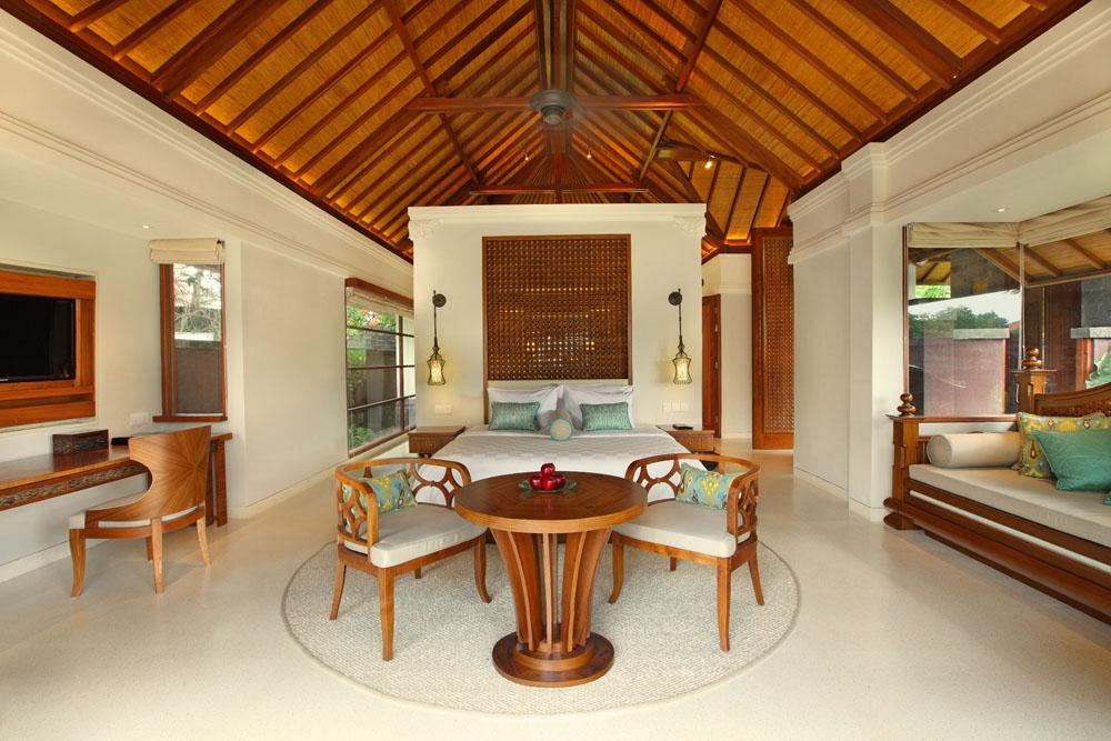 Interior One Bedroom Villa.