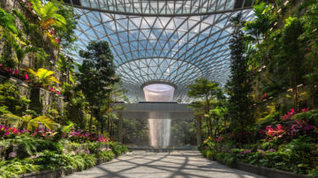 rain vortex, jewel of changi