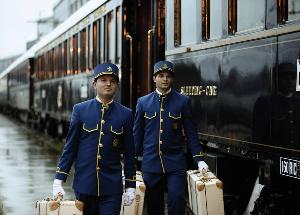 Kereta api mewah Orient-Express yang tersohor.