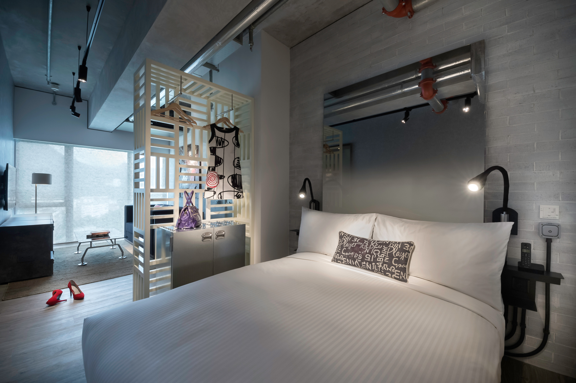 Selayaknya Ovolo Hotels lainnya, Ovolo Southside juga mengutamakan desain yang menawan.
