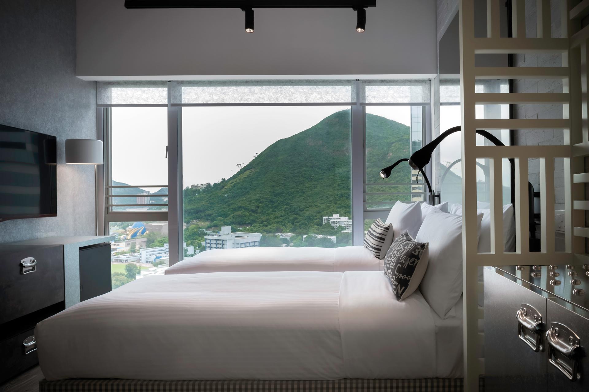 Sejumlah kamar dianugerahi pemandangan yang menakjubkan.