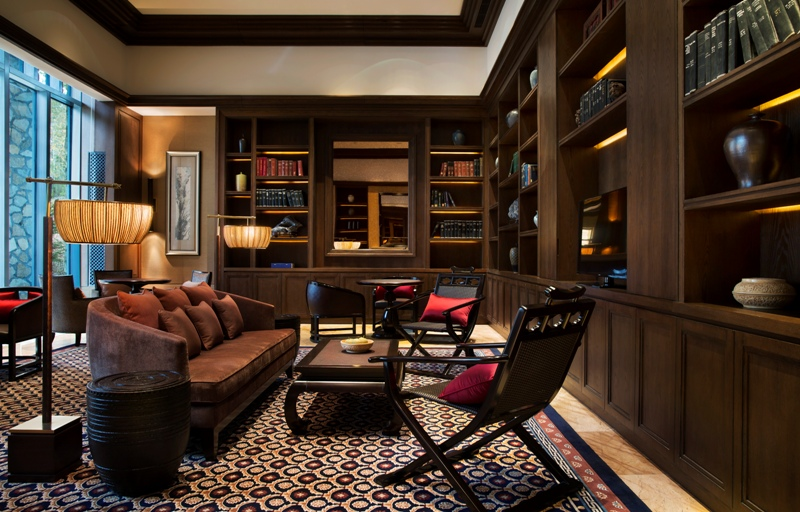 The Library di Park Hyatt Changbaishan.