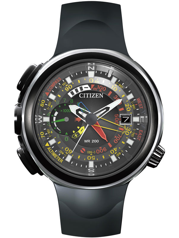 Promaster Eco-Drive Altichron-Cirrus untuk petualang alam.