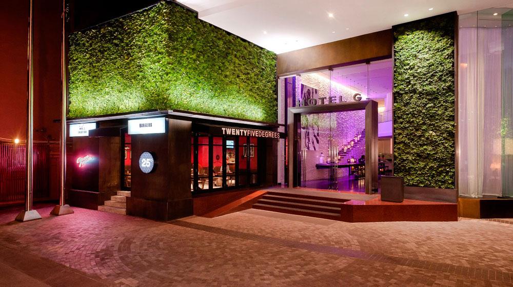 Pintu masuk Pullman Bangkok Hotel G.