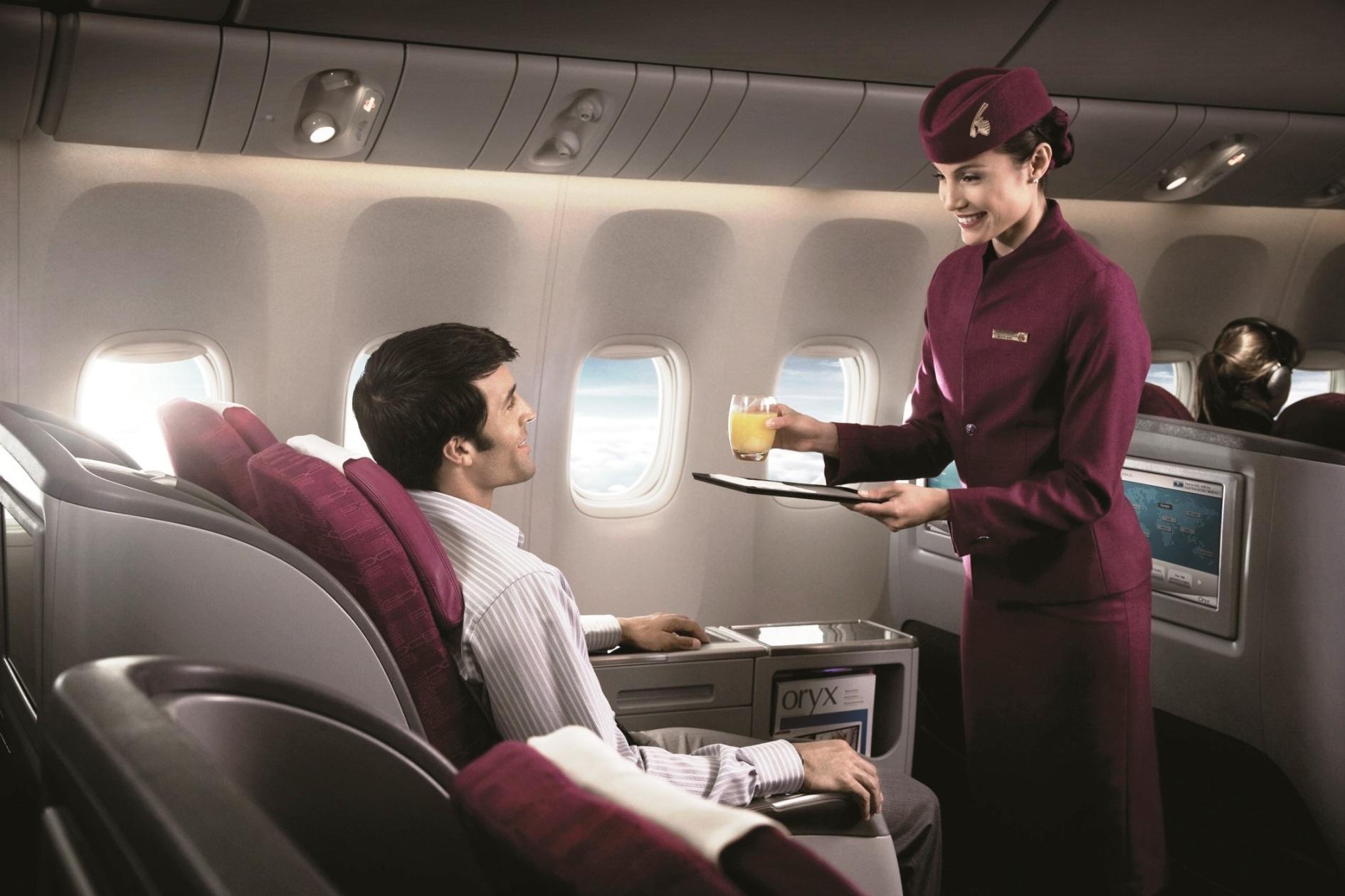 Film-film nominasi Oscar 2015 tersedia di seluruh kelas penerbangan.