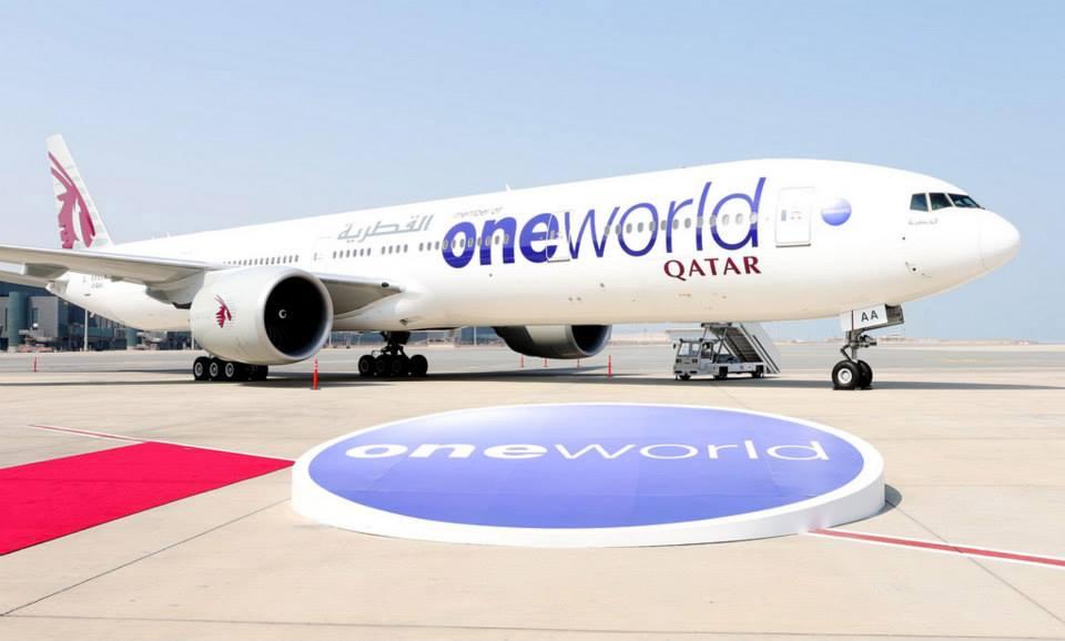 Qatar Airways bergabung menjadi anggota aliansi Oneworld pada 30 Oktober 2013.