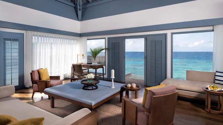 hotel baru di maldives, Raffles Maldives Meradhoo