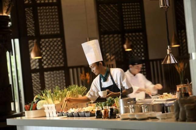 Selain di Rasa, sesi Easter Brunch di Hotel InterContinental Jakarta juga digelar di Scusa dan Jimbaran Outdoor Lounge.
