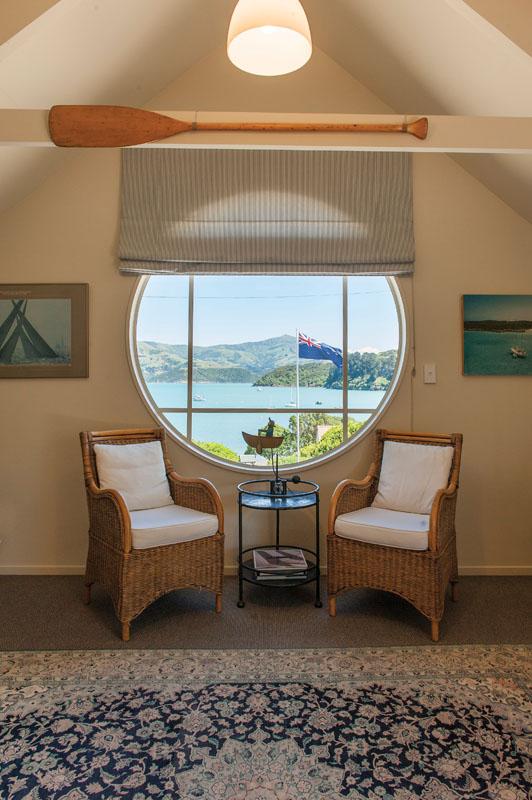 Suite Boathouse di Maison de la Mer di Akaroa.