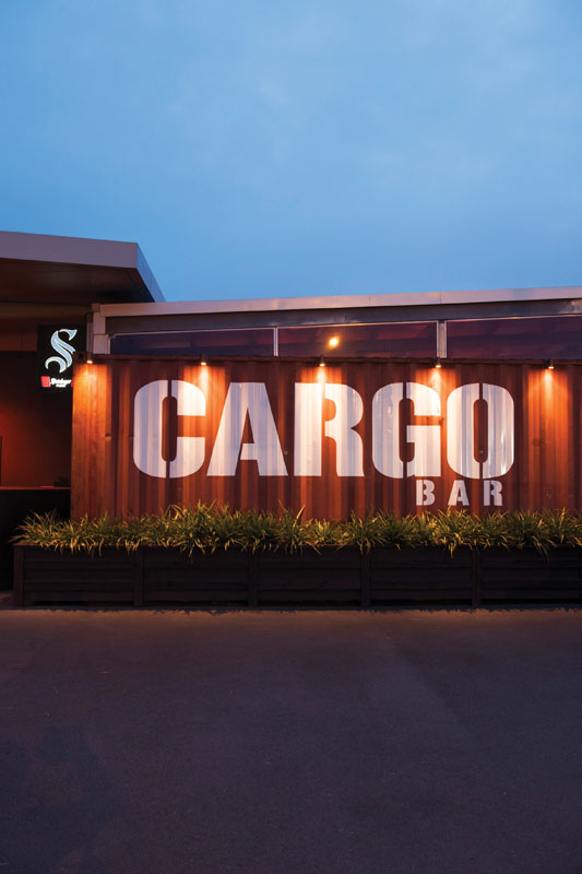 Cargo Bar di Christchurch.