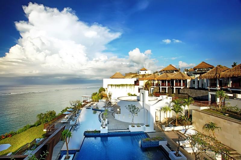 Fasad Samabe Bali Suites & Villas.
