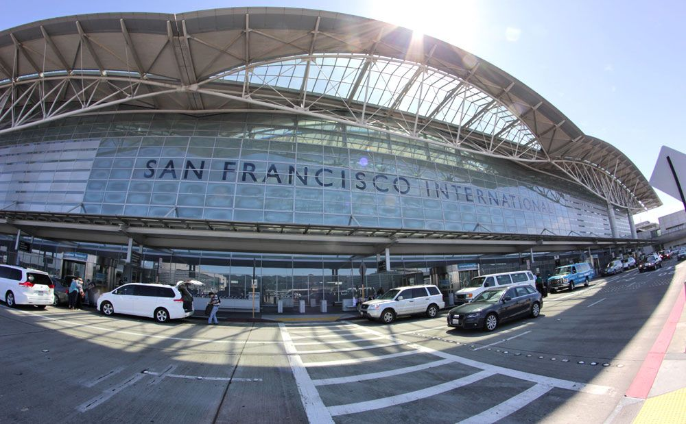 Bandara Internasional San Francisco.