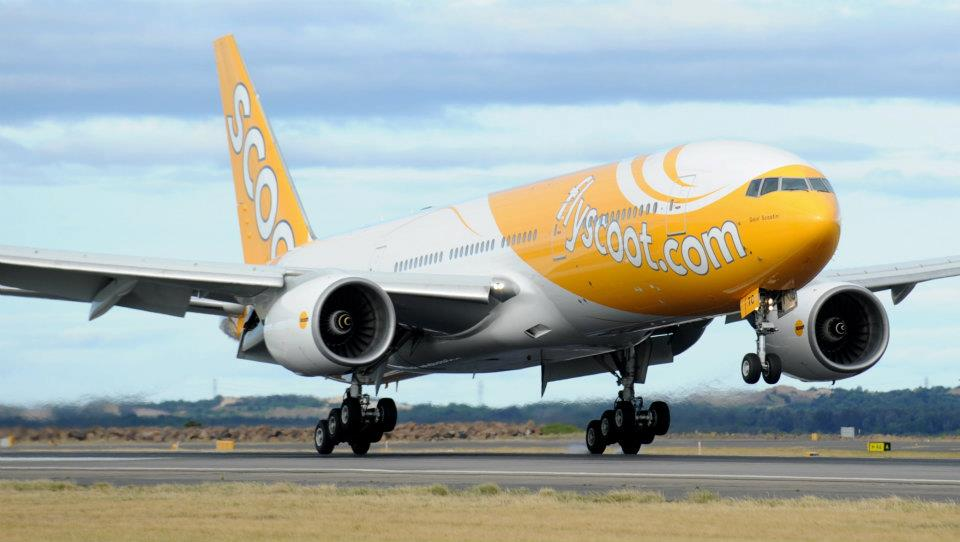 Seperti AirAsia dan Tigerair, Scoot lebih fokus ke penerbangan internasional jarak menengah. Foto: James Morgan/Scoot.