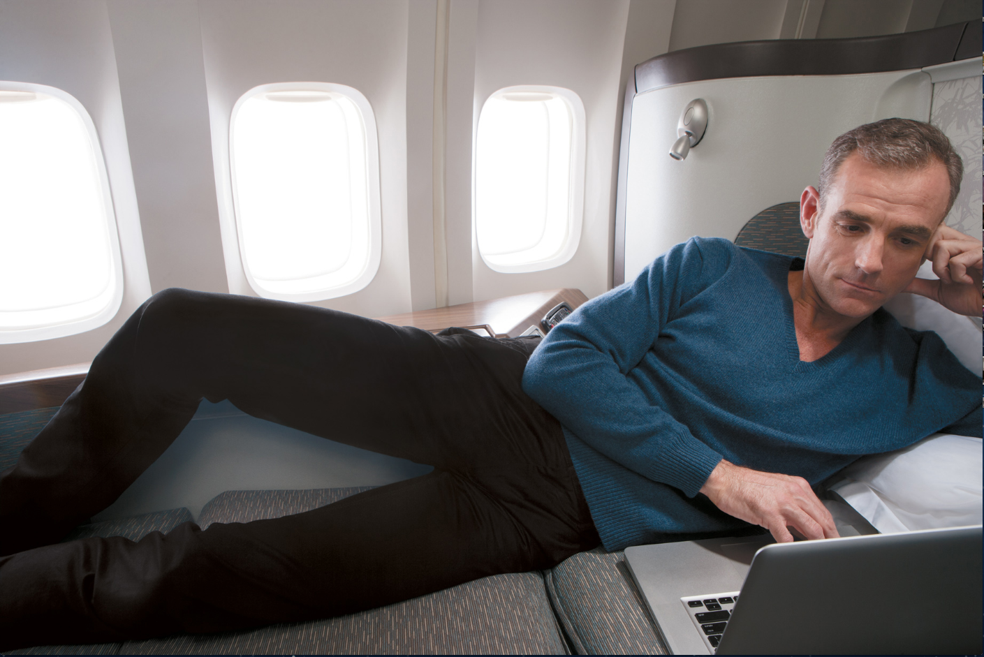 Nanti first class Cathay Pacific akan menampilkan kursi baru.