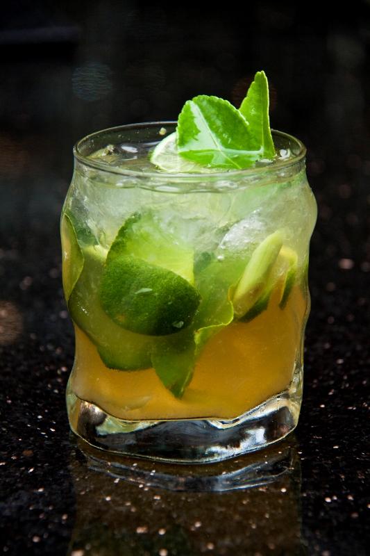 Sencha Pranala, minuman mocktail berbasis teh hijau yang juga bisa dipelajari di Art of Cocktail.
