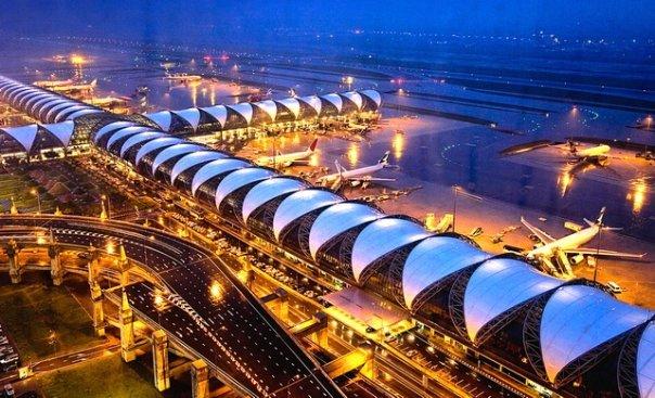 Bandara Suvarnabhumi, Bangkok.