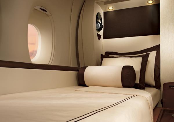 Akomodasi suite di armada A380.