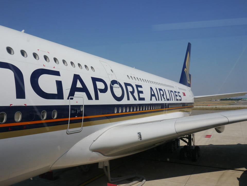 Ini pertama kalinya Singapore Airlines mengoperasikan pesawat jumbo tersebut ke Selandia Baru.