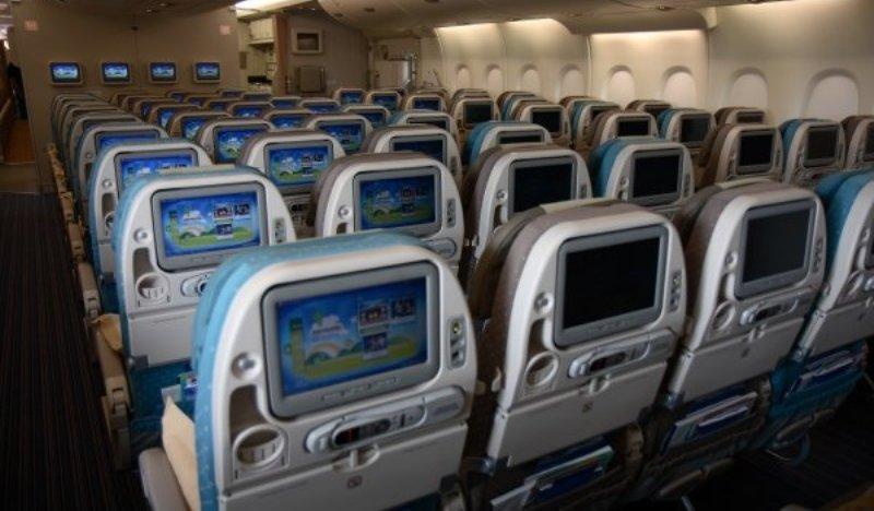 Armada A380 terkenal akan layar sistem hiburannya yang lebar.