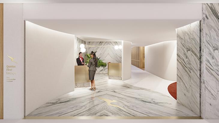 first lounge qantas
