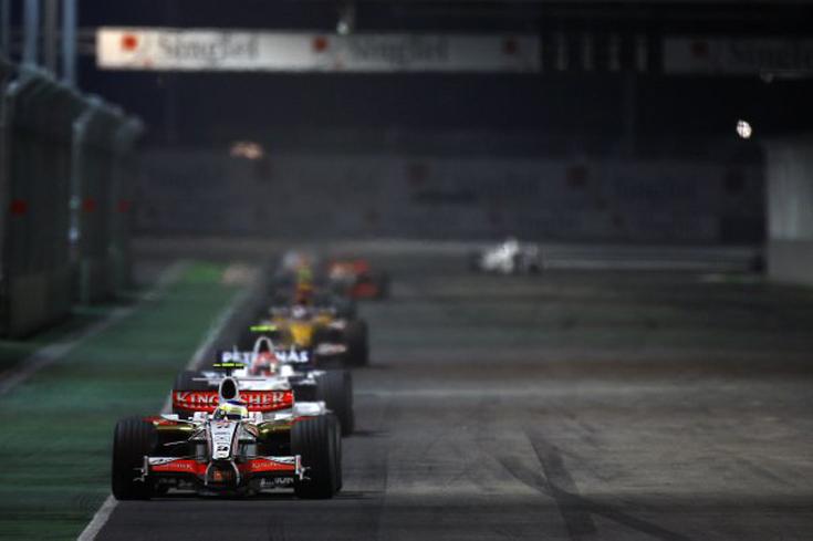 Balapan tahunan yang ditunggu. (Foto: Singapore Grand Prix)