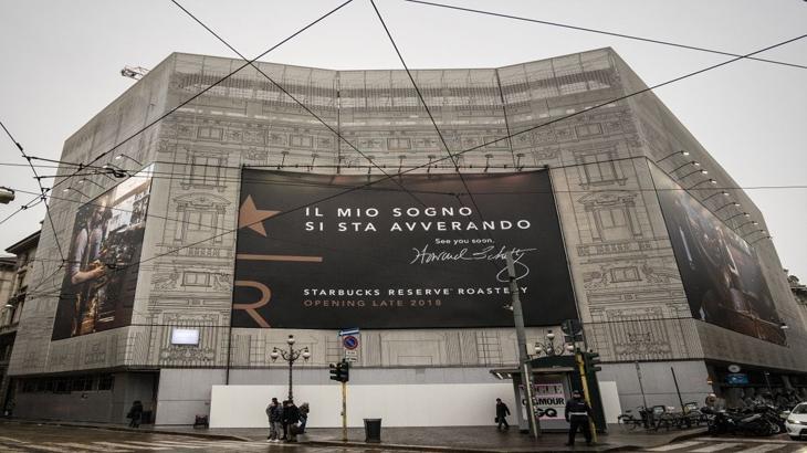 Starbucks Roastery menandakan kehadiran Starbucks di ranah Italia pada akhir tahun ini. foto oleh Starbucks