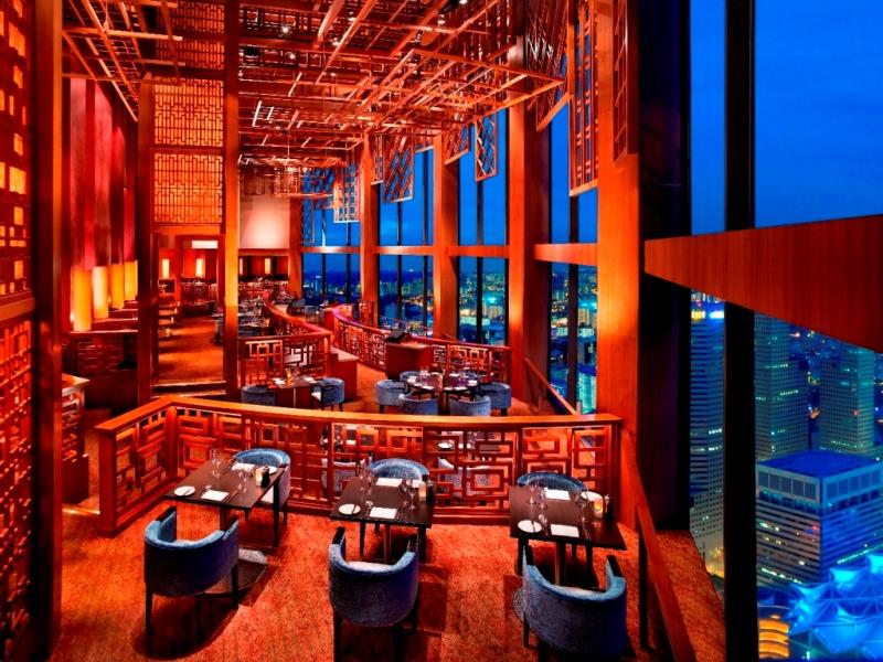 Restoran Equinox di Swissotel The Stamford, Singapura.