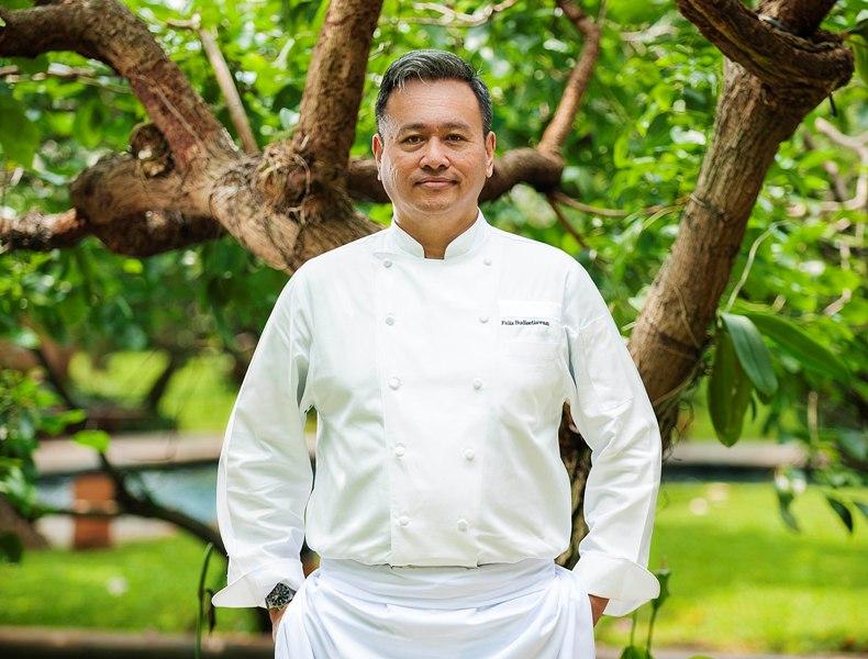 Felix Budisetiawan sempat memimpin dapur hotel bintang lima di Bali, Surabaya, dan Jakarta.