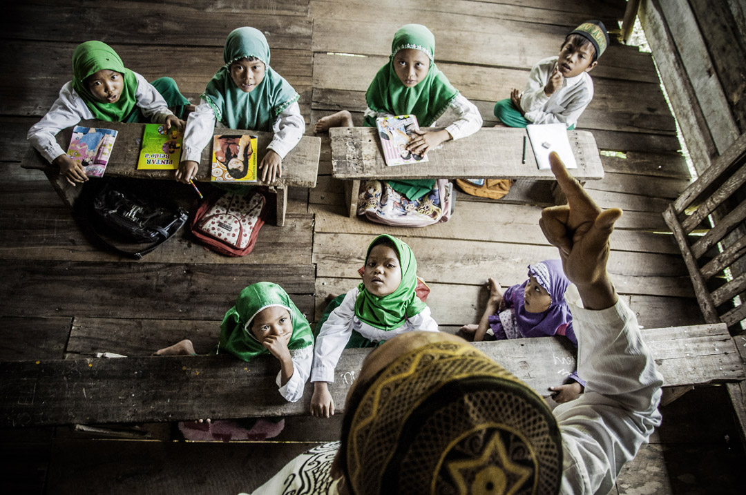 Salah satu foto kategori manusia karya fotografer Indonesia, Hasan Tribuana.