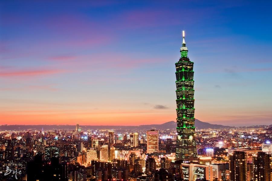 Tamu dengan paket ini juga mendapatkan akses ke puncak Taipei 101.