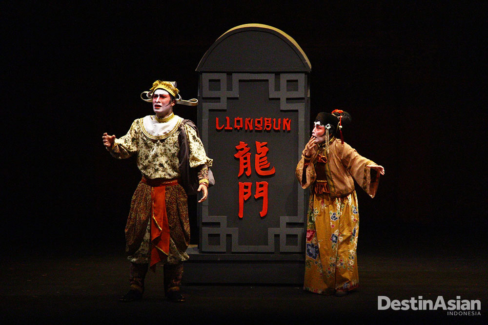 Sie Jin Kwie di Negeri Sihir, salah satu pentas Teater Koma.