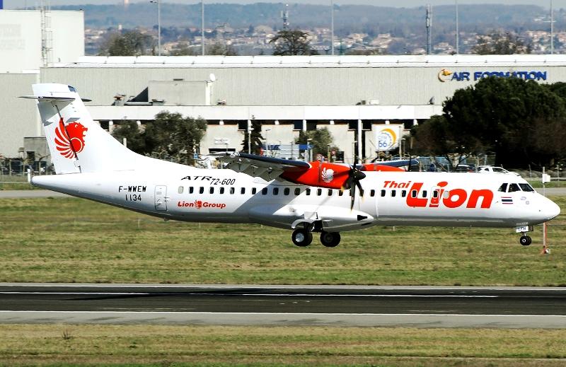 Rute Medan-Hat Yai dioperasikan menggunakan armada ATR 72-600.