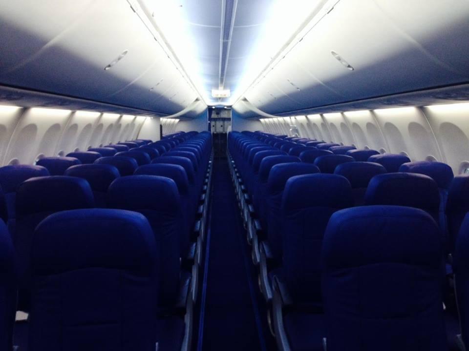 Interior armada Thai Lion Air.