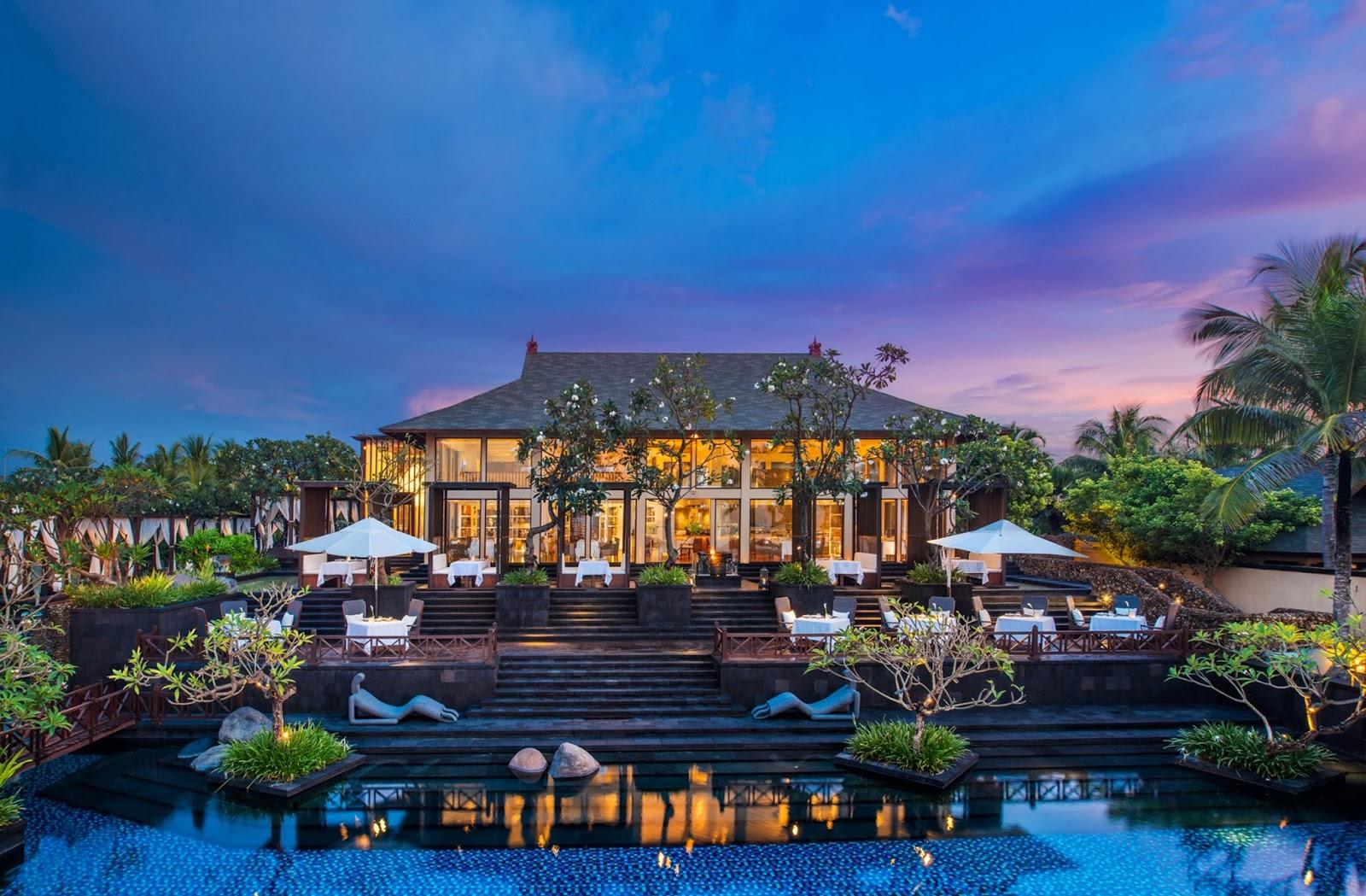 Restoran Kayuputi di The Westin Bali.
