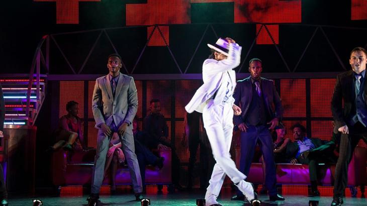 Pertunjukan teater musikal Michael Jackson yang digelar di The Parisian Macao.