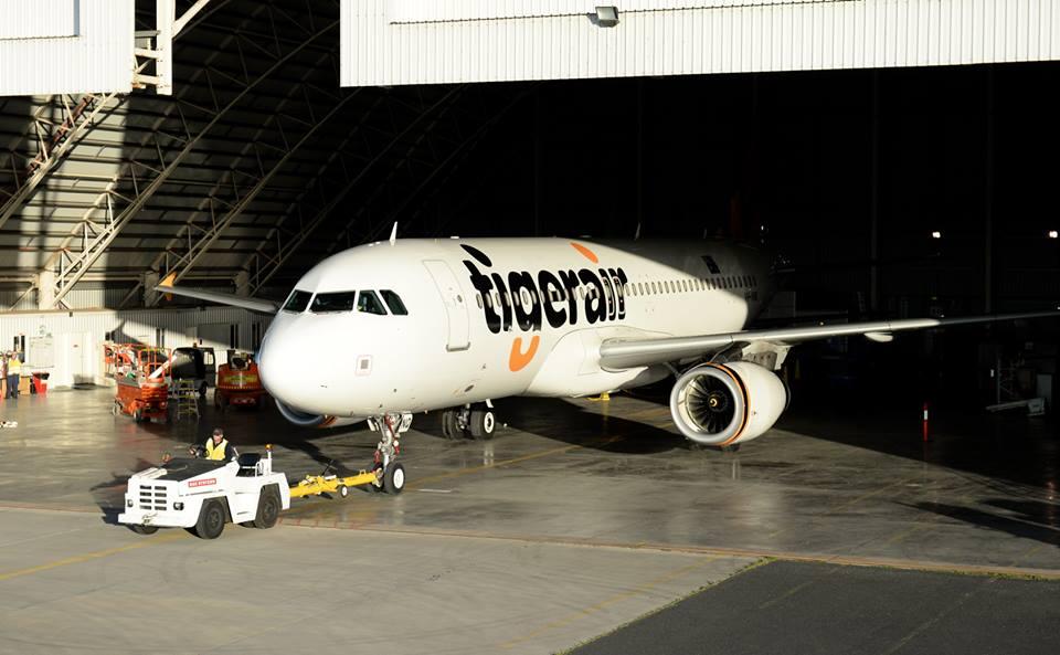 Ningbo adalah rute ketujuh Tigerair ke RRC.