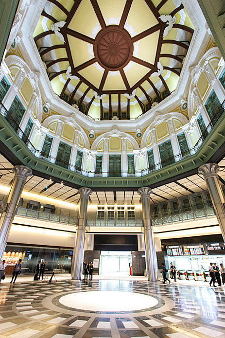Interior kubah dengan desain bergaya Eropa. (Foto: JNTO)
