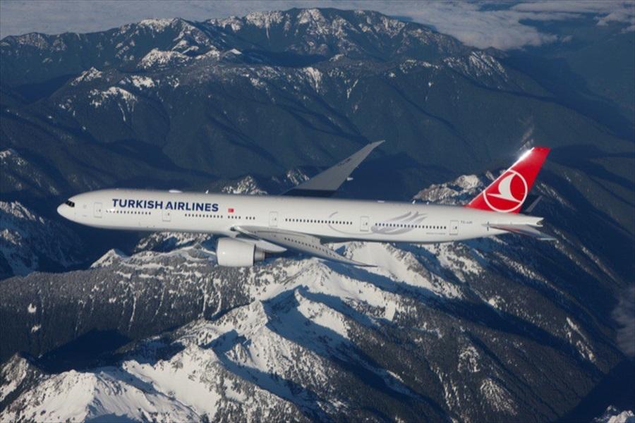 Turkish Airlines naik empat peringkat setelah sebelumnya duduk di posisi sembilan.