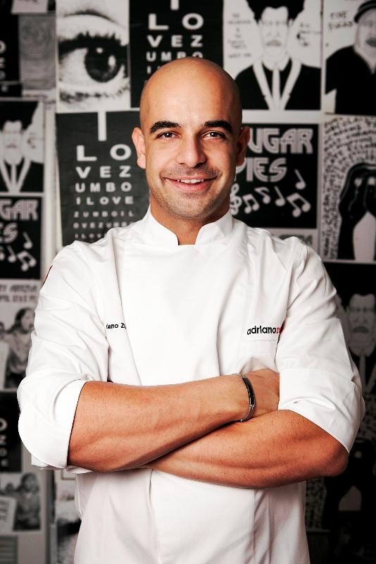 Adriano Zumbo akan menyajikan hidangan spesialnya di W Lounge.
