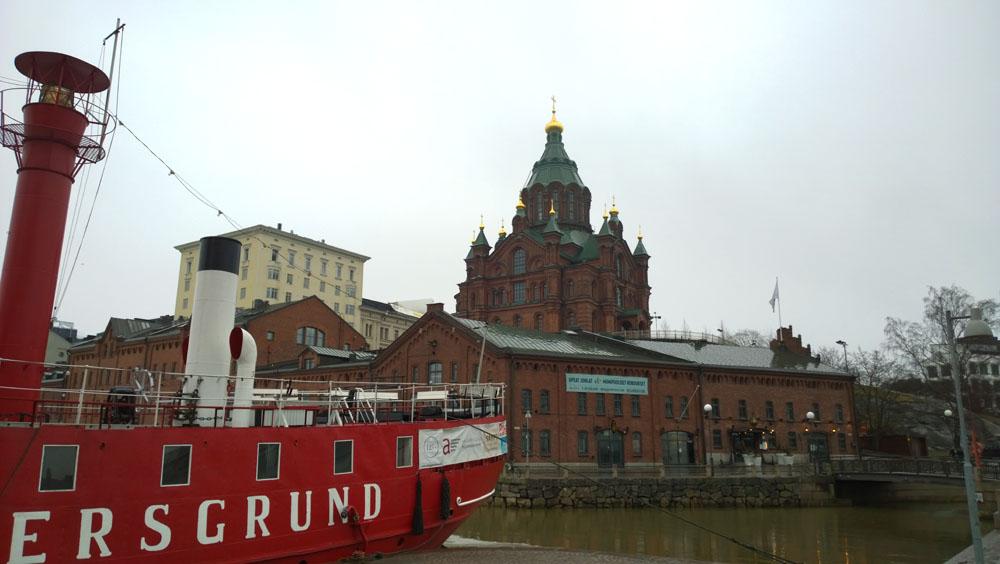 Lanskap kota Helsinki diabadikan menggunakan Lumia 1020.