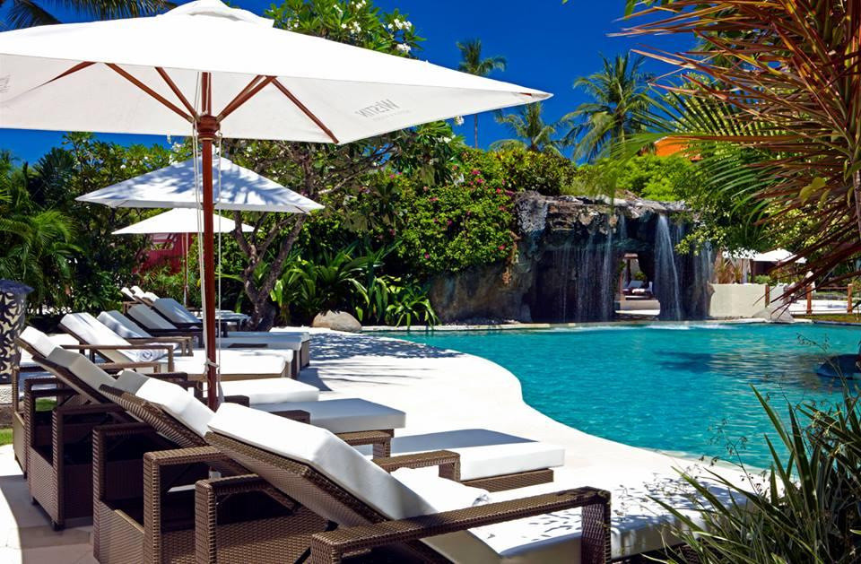 Salah satu kolam renang di The Westin Bali.