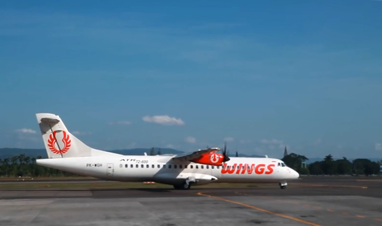 Wings Air adalah operator pesawat ATR terbesar sejagat.
