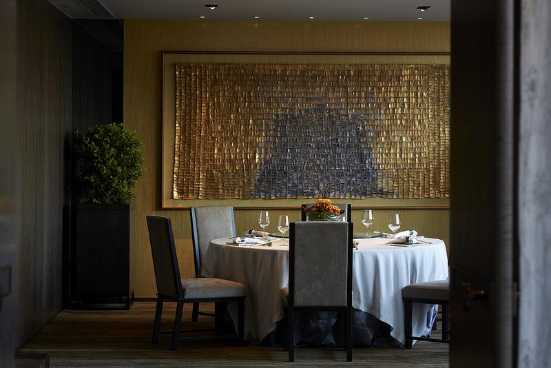 Ruang makan privat.