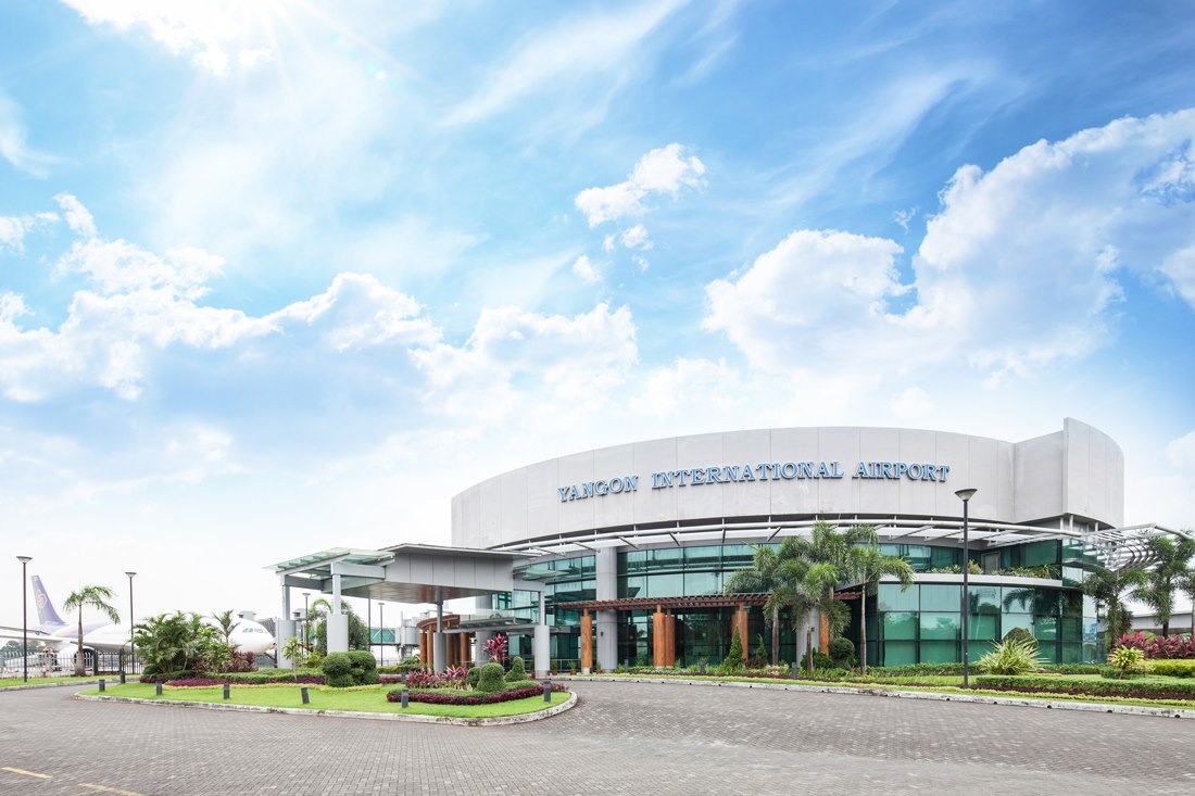 Bandara Internasional Yangon.