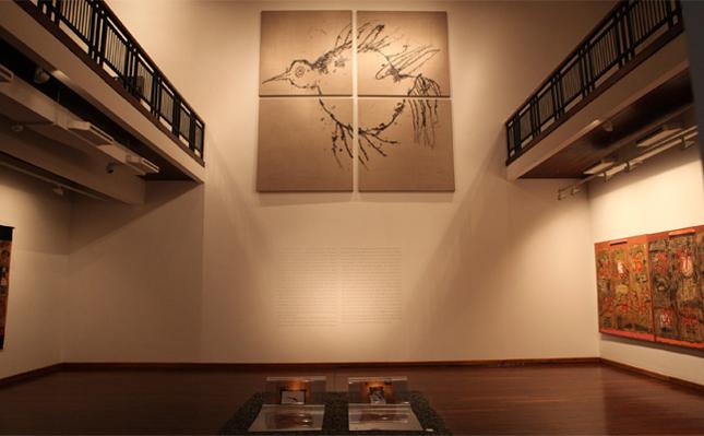 Interior Yuz Museum di Jakarta.