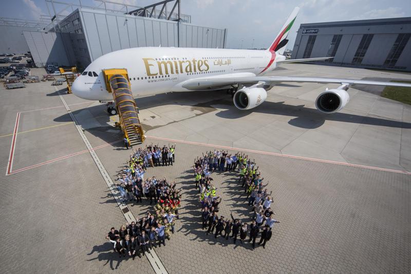 Emirates terima armada A380 ke-50 dari total 140 unit yang dipesan.