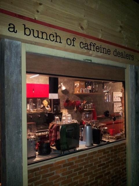 A Bunch of Caffeine Dealers yang merupakan pionir tren baru di Pasar Santa. (Foto: Stephany Josephine)