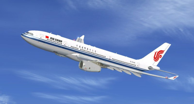 Armada Airbus A330-200 milik Air China.